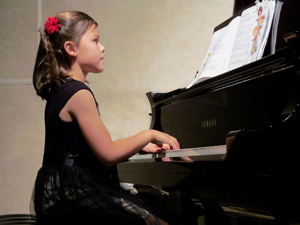 Recital Time! Piano Lessons San Diego